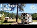 Bavarian TINY HOUSE in Leavenworth Washington's Tiny House Village