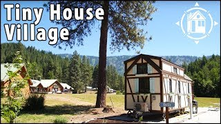 Bavarian Tiny House In Washington's Tiny House Village