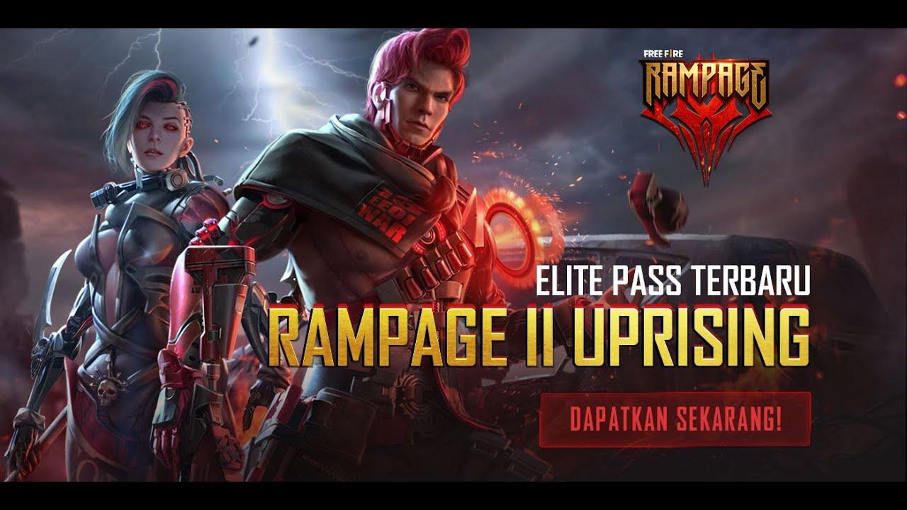 Elite Pass Rampage 2.0 Uprising | Upgrade Sekarang!