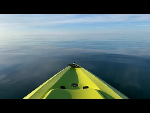 Kayak Fishing South Shore On LAKE SUPERIOR