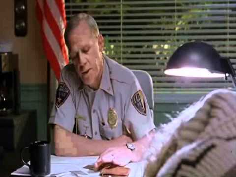 The Big Lebowski - Police station scene