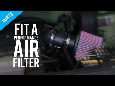 Filtre K/&N KN remplacement MEGANE CLIO 1.4 à 1.8 16V