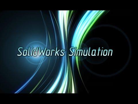 SolidWorks Simulation Создание КЭ сетки на твёрдотельной модели (Часть 1) (Урок 1)