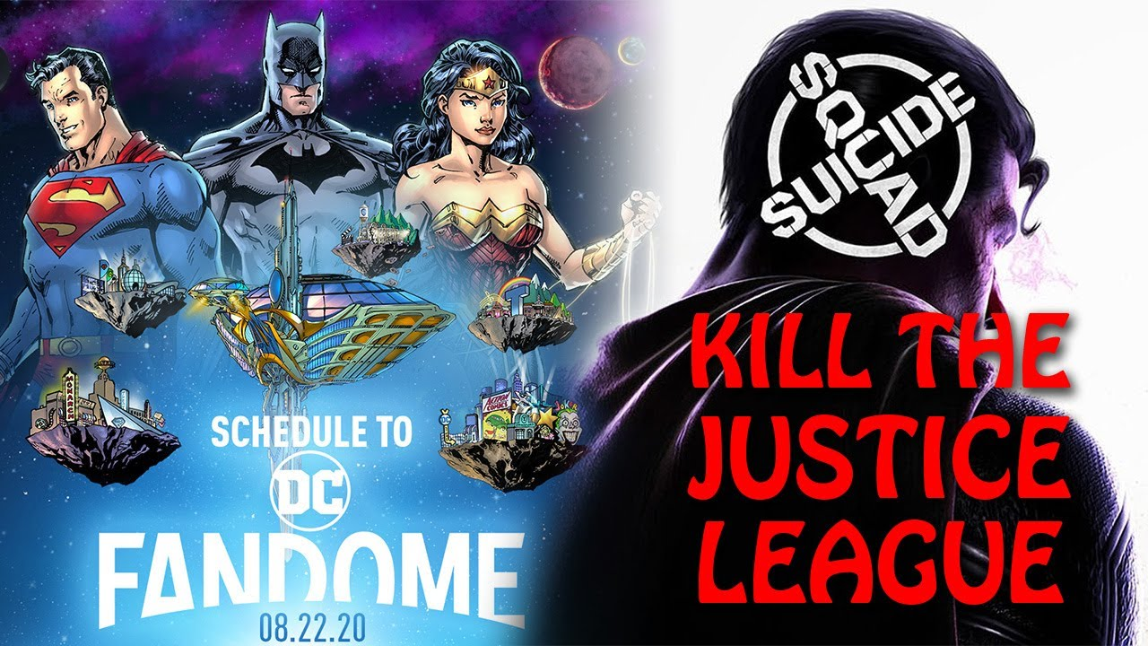 DC FanDome Schedule Released, Confirms Rocksteady's Suicide Squad: Kill the Justice League Title - Nerd Reactor