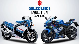 THE EVOLUTION OF SUZUKI GSXR 1000 ( 1985 - 2020 ) #FreeWheelie