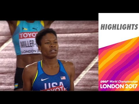 WCH London 2017 Highlights - 400m - Women - Final - Phyllis Francis wins!