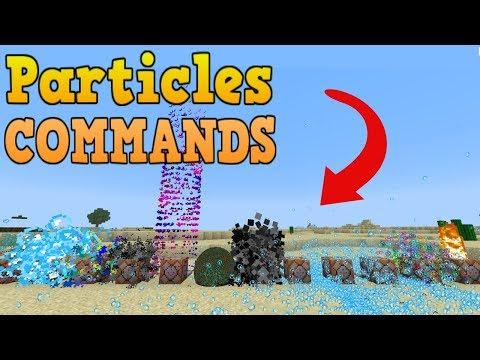 Minecraft Bedrock Edition Particles Commands 1.8.0.10 Beta