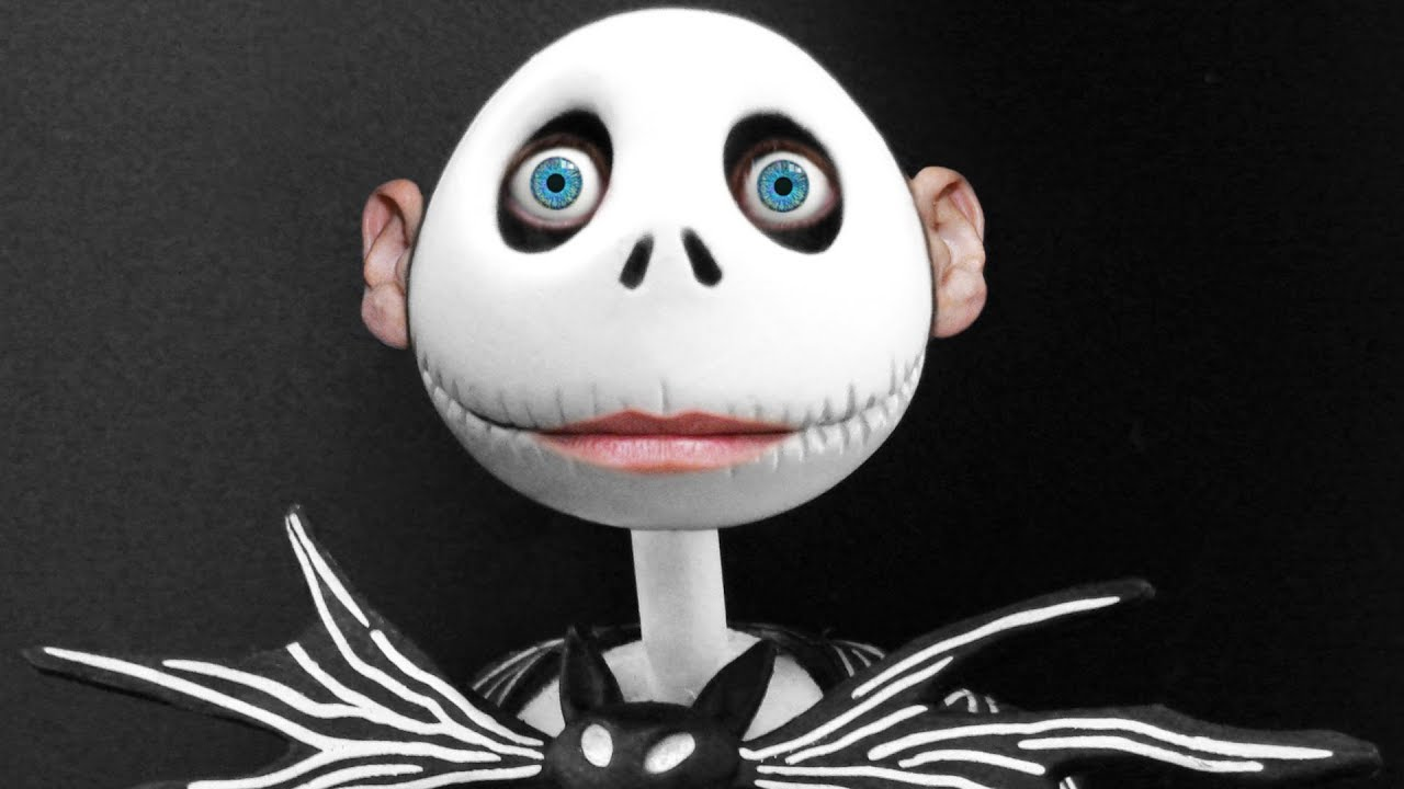 if JACK SKELLINGTON had SKIN... - YouTube