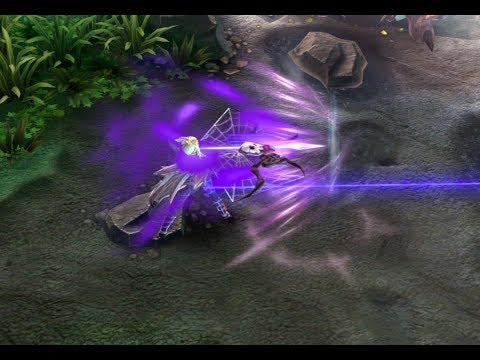 Vainglory | Spider Queen Kestrel (Slow-mo HD)