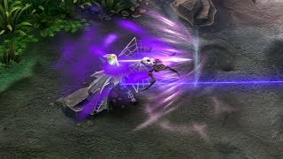 Vainglory | Spider Queen Kestrel (Slow-mo HD)