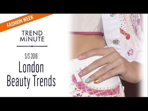 Trend Minute: London S/S16 - Beauty Trends