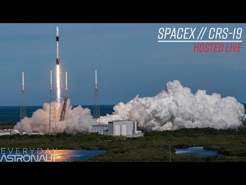 Watch SpaceX Launch (and Land) A Falcon 9 Going To The ISS! (CRS-19)