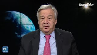 UN chief calls for commitment to restoring planet