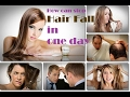 How to stop Hair Fall in one day