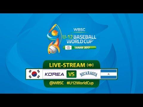 Korea v Nicaragua - U-12 Baseball World Cup 2017