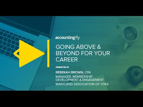 Going Above & Beyond for Your Career