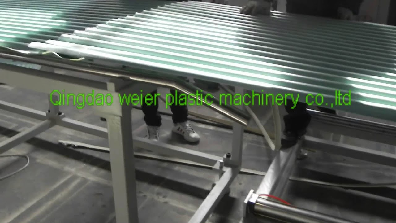 Pvc Roof Sheet Production Line For Philippines Customer