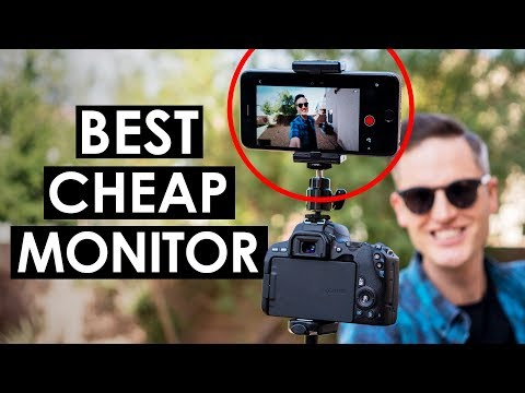 Best Budget Camera Monitor (For Cameras Without Flip Screens)
