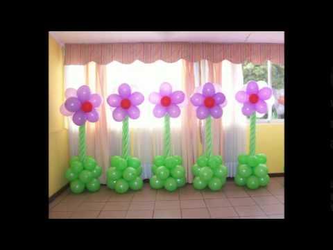Сделать своими руками из шариков цветы