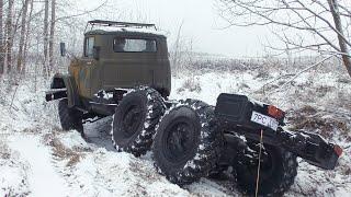 Взяли ЗиЛ-131 с воинского хранения и поехали тестировать на бездорожье!