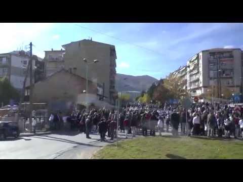 Passing through Florina on Liberation day ( 7 November)
