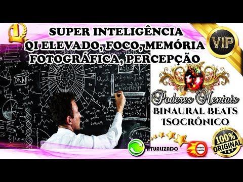 ☀ SUPER INTELIGÊNCIA+QI ELEVADO+MEMÓRIA FOTOGRÁFICA+FOCO+PERCEPÇÃO+CONCENTRAÇÃO - BIO BINAURAL