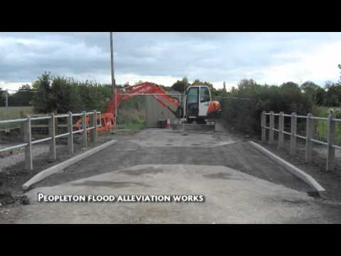 Peopleton Flood Defence - The Big Society in action