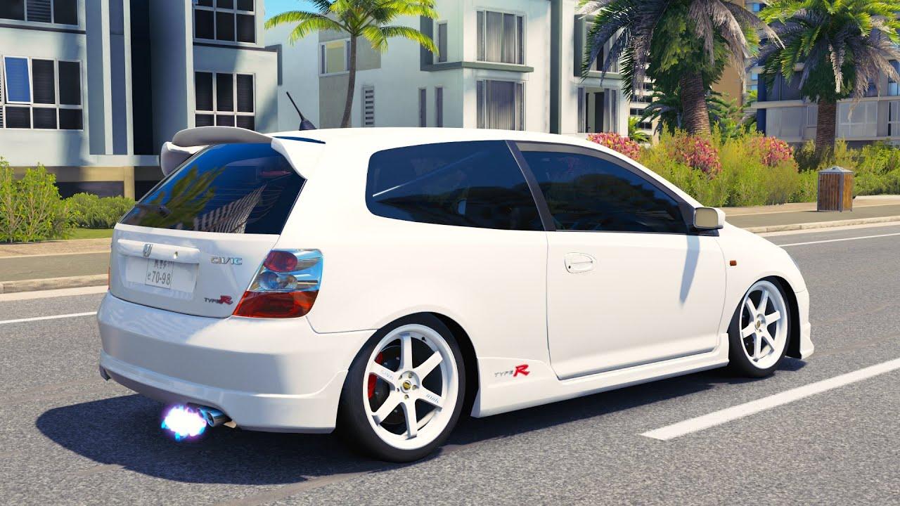 Jdm Cars For Sale >> HONDA CIVIC TYPE R, EP3, JDM CRUISE/CONVOY FORZA HORIZON 3 - YouTube