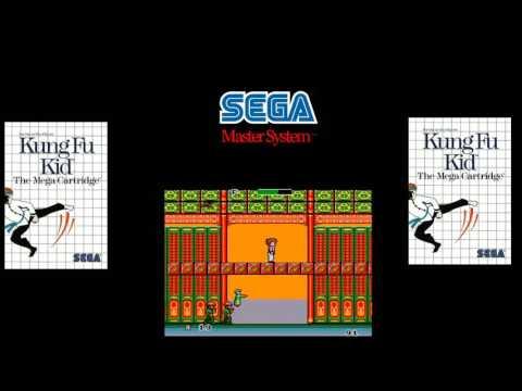Sega Master System -  Kung Fu Kid (Real Hardware)