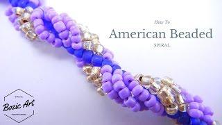 American Beaded Spiral   Beading Tutorial
