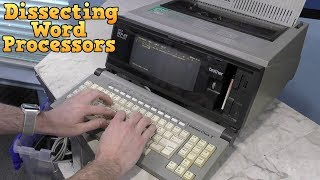 Dissecting two Word Processors, Brother WP25 and Panasonic W1525