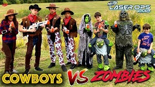 Cowboys Vs Zombies - Scary Nerf Movie