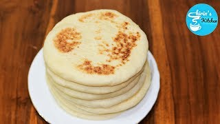 চুলায় তৈরী তুলতুলে পিটা ব্রেড (সংরক্ষণপদ্ধতিসহ) || Soft Pita Bread || Homemade Flat Bread