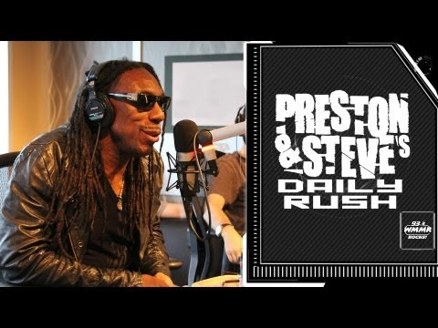 Boyd Tinsley can't understand Dave Matthews - Preston & Steve's Daily Rush