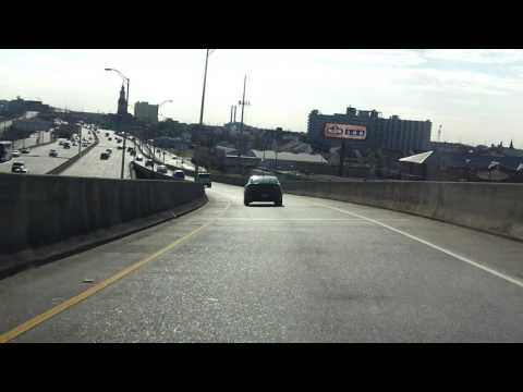 New Orleans Freeway Tour westbound/outbound
