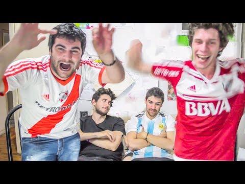 River vs Atlético Tucumán | FINAL Copa Argentina 2017 | Reacciones de amigos