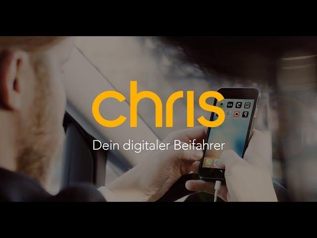 Video: Chris, der Sprachassistent für Autofahrer // Offizielles Produkt Video
