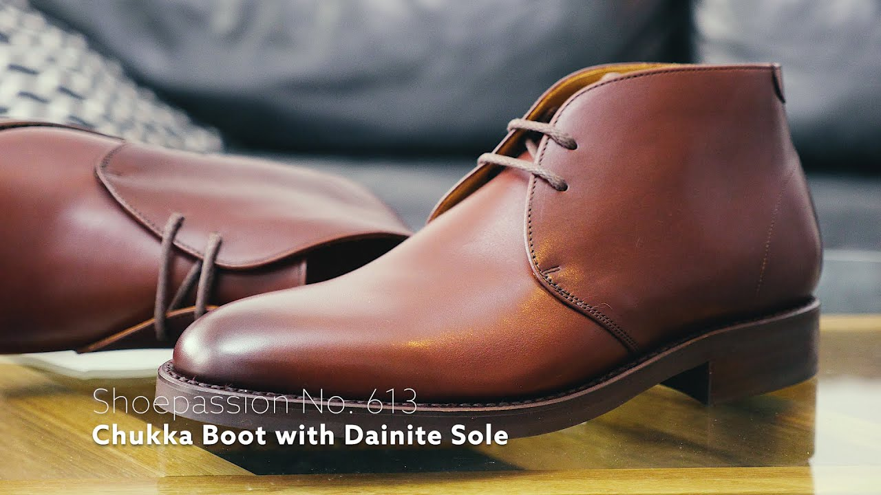 watch 5268e 9e453 REVIEW // SHOEPASSION No. 613 Chukka Boot Brown with Dainite Sole