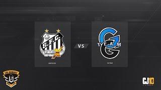 Liga Diamante #4 (Final) - Santos Dexterity VS GG Team