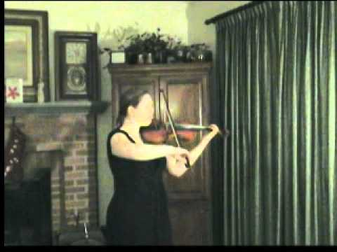 Ysaye's Danse Rustique from Sonata No. 5