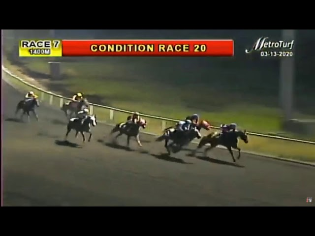 PUSO SA PARAISO - RACE 7 MMTCI HORSE RACING REPLAY - MARCH 13, 2020 - BAYANG KARERISTA HORSE RACING
