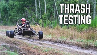 750cc Cross Kart Thrash + Speed Testing!