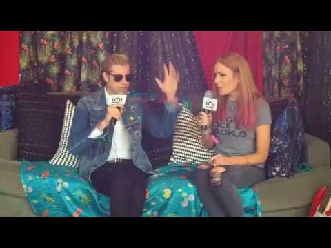 Andrew McMahon Interview at Lollapalooza 8/4/17