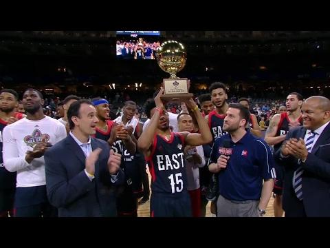 Quinn Cook Receives NBA D-League All-Star MVP Trophy