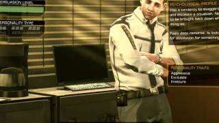 Deus EX Human Revolution - Entering the police station without any fighting ( just talking )