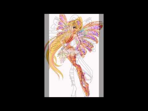 Winx sirenix da colorare disegni winx hd youtube for Immagini natalizie da colorare
