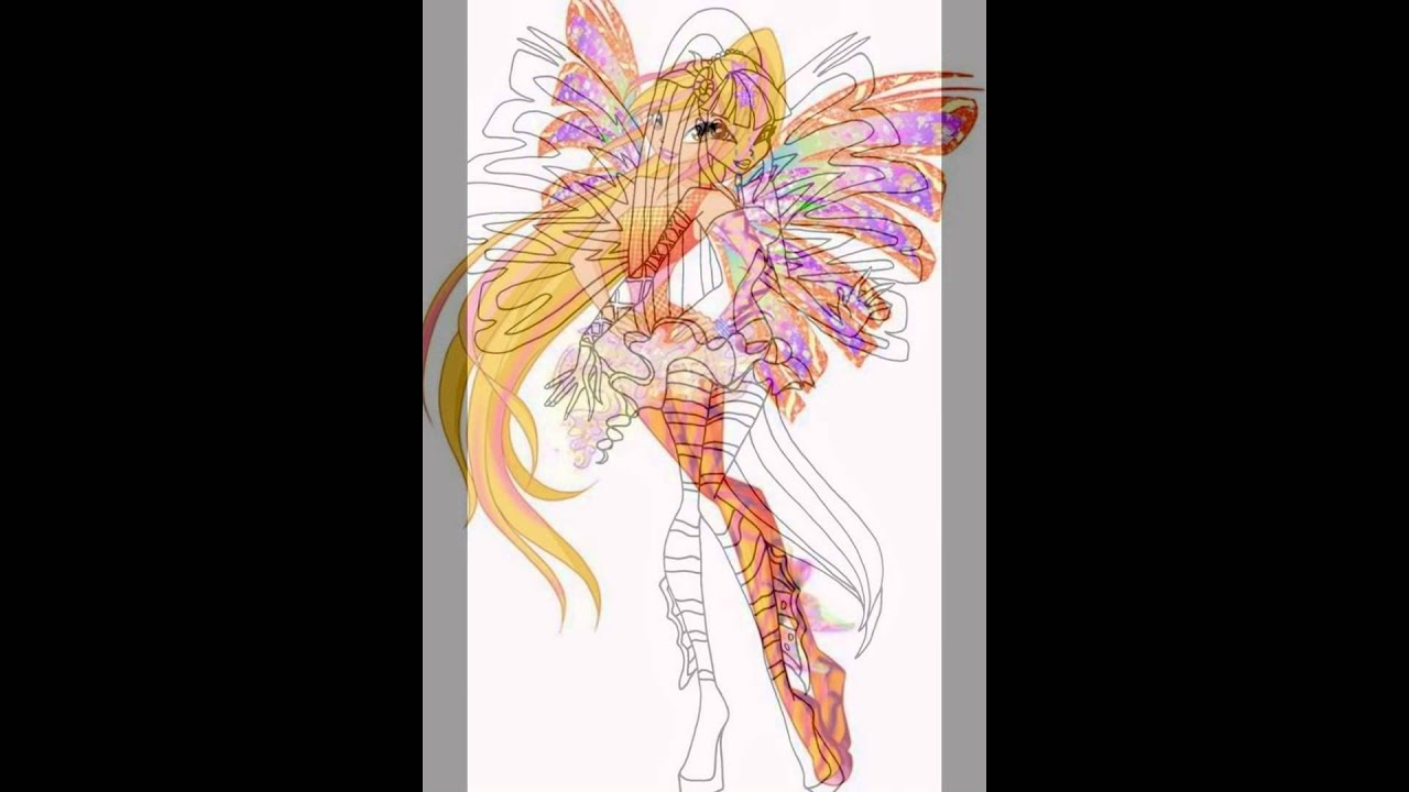 Winx Sirenix da Colorare - Disegni Winx HD - YouTube