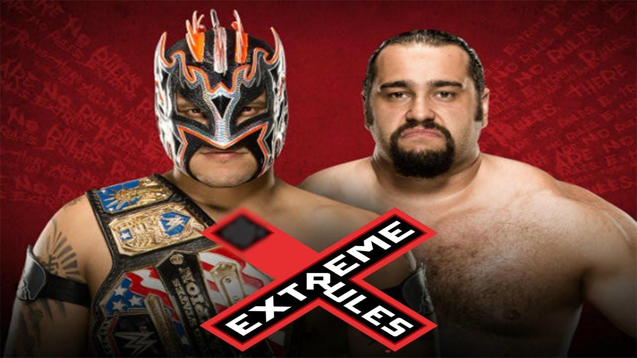 Wwe extreme rules 2016 rusev vs kalitos us champion