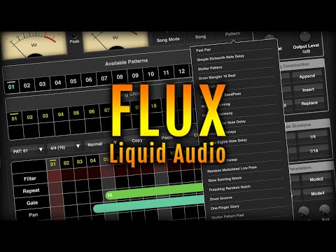 4Pockets Flux ( Liquid Audio) AUv3 Plugin for iOS