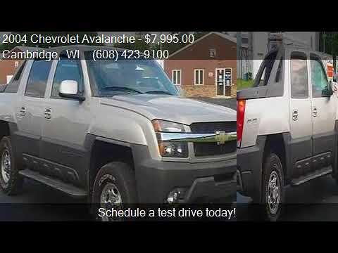 2004 chevrolet avalanche 2500 4dr 4wd crew cab sb for sale i youtube. Black Bedroom Furniture Sets. Home Design Ideas